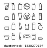 a set of simple vector icons....   Shutterstock .eps vector #1330270139