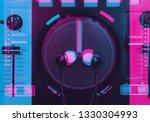 Dj Sound Mixer Illustration...