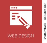 web design icon. editable  web ...