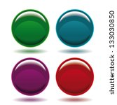 abstract circle icons | Shutterstock .eps vector #133030850