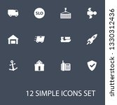 set of 12 systematization icons ... | Shutterstock . vector #1330312436
