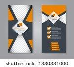 flyer template. vectical banner ... | Shutterstock .eps vector #1330331000