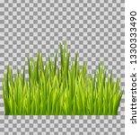 green grass meadow bottom... | Shutterstock .eps vector #1330333490