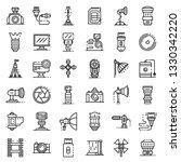 photographer equipment icons...   Shutterstock .eps vector #1330342220