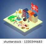 scandinavia concept banner.... | Shutterstock .eps vector #1330344683