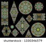 mosaic different template   ...   Shutterstock .eps vector #1330346579