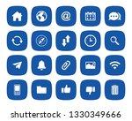 web  website icon set