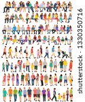collection  set people | Shutterstock .eps vector #1330350716