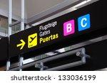 Airport Gate Signs  Malaga ...