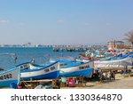 pomorie  bulgaria   march 02 ... | Shutterstock . vector #1330364870