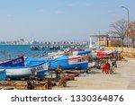 pomorie  bulgaria   march 02 ... | Shutterstock . vector #1330364876