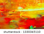 abstraction art oil paints... | Shutterstock . vector #1330365110