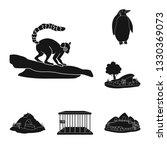 vector illustration of fauna... | Shutterstock .eps vector #1330369073