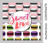 bakery  pastry sweets and... | Shutterstock .eps vector #1330396670