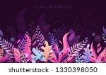 trendy textured flat vector...   Shutterstock .eps vector #1330398050