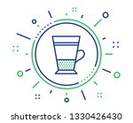 double latte coffee icon. hot... | Shutterstock .eps vector #1330426430