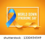 world down syndrome day. march... | Shutterstock .eps vector #1330454549