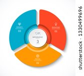 vector infographic circle....   Shutterstock .eps vector #1330499696