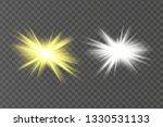 glow isolated white light...   Shutterstock .eps vector #1330531133