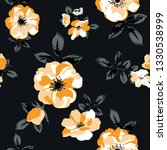 seamless pattern with spring... | Shutterstock .eps vector #1330538999