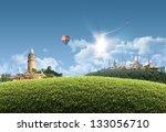 istanbul summer   photographic...   Shutterstock . vector #133056710