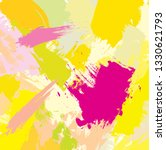 abstract colourful paint brush... | Shutterstock .eps vector #1330621793