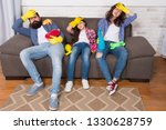 cleaning all day exhausting... | Shutterstock . vector #1330628759