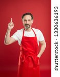 culinary magic. cook with beard ... | Shutterstock . vector #1330636193