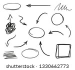 infographic elements on... | Shutterstock . vector #1330662773