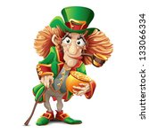 leprechaun | Shutterstock .eps vector #133066334