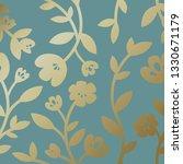 gold botanical pattern... | Shutterstock .eps vector #1330671179
