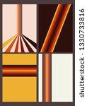 backgrounds  covers  orange...   Shutterstock .eps vector #1330733816