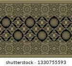 seamless dark traditional... | Shutterstock . vector #1330755593