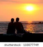 Romance At Sunset