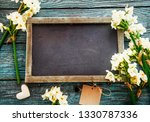 mother's day. narcissus flowers ... | Shutterstock . vector #1330787336
