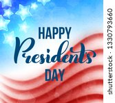 happy presidents day in usa... | Shutterstock . vector #1330793660