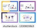 movie making set concept... | Shutterstock .eps vector #1330803863