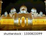 sheik zayed mosque   Shutterstock . vector #1330823399