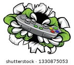 monster player or gamer hands... | Shutterstock .eps vector #1330875053