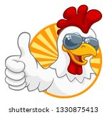 a chicken rooster cockerel bird ... | Shutterstock .eps vector #1330875413