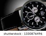 exquisite men's watch with... | Shutterstock . vector #1330876496
