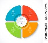 vector infographic circle....   Shutterstock .eps vector #1330922996