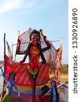image of hindu goddess kali     Shutterstock . vector #1330926890