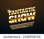 vector sign with text fantastic ... | Shutterstock .eps vector #1330928720