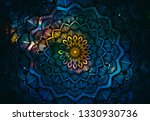 Abstract Ancient Geometric With ...