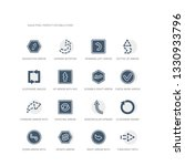 simple set of icons such as...   Shutterstock .eps vector #1330933796