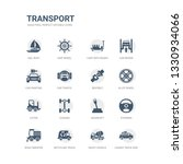 simple set of icons such as... | Shutterstock .eps vector #1330934066