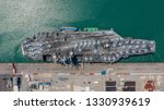 navy nuclear aircraft carrier ... | Shutterstock . vector #1330939619