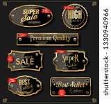 luxury premium golden badges... | Shutterstock .eps vector #1330940966