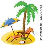 travel vacation vector...   Shutterstock .eps vector #133097786